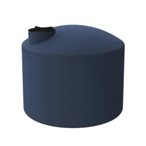 3000 Litre SQUAT ROUND POLY TANK